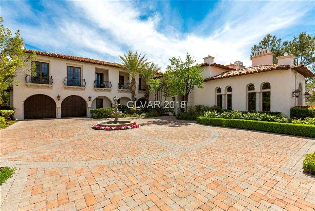 $4,575,000 - 6Br/8Ba -  for Sale in Enclave At Southern Highlands, Las Vegas