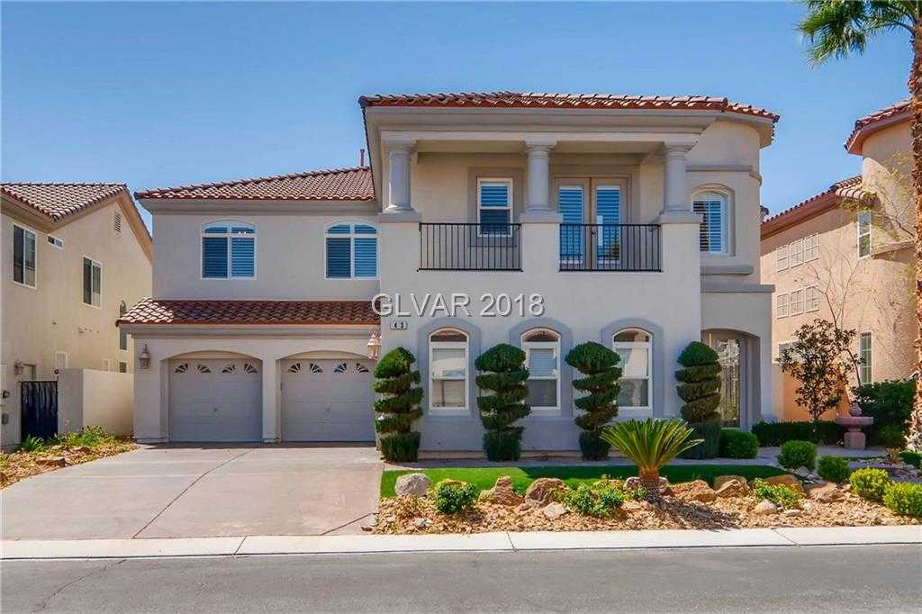 $719,900 - 6Br/5Ba -  for Sale in Rhodes Ranch Phase 5-unit 2, Las Vegas