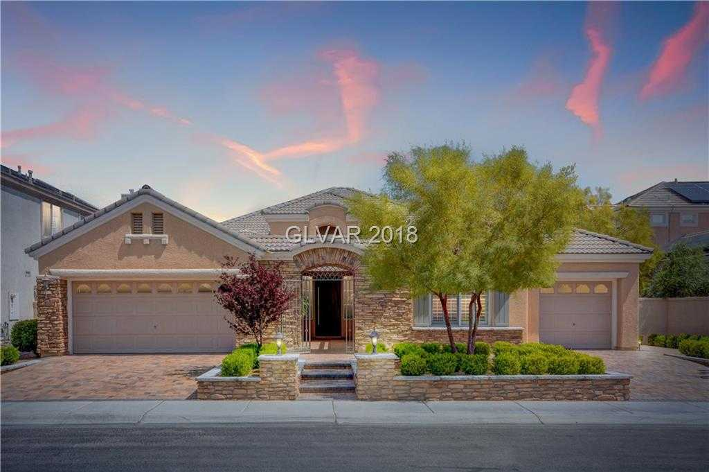$1,200,000 - 3Br/3Ba -  for Sale in Peccole West Lot 10-parcel 18-, Las Vegas