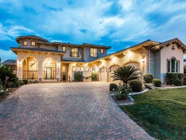 $1,995,000 - 5Br/6Ba -  for Sale in Seven Hills, Henderson