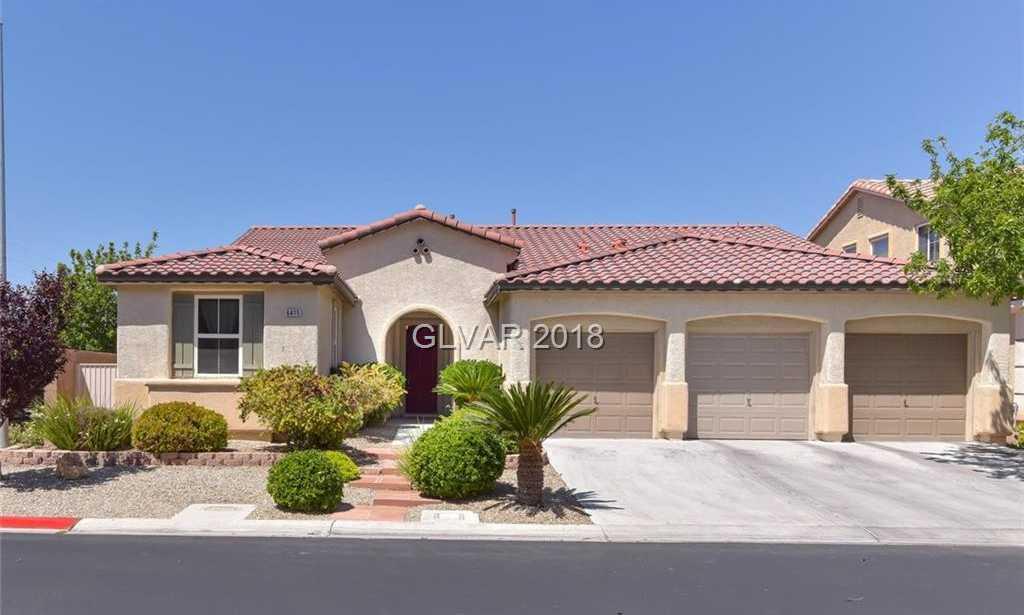 $419,900 - 4Br/4Ba -  for Sale in Aliante Parcel 24, North Las Vegas