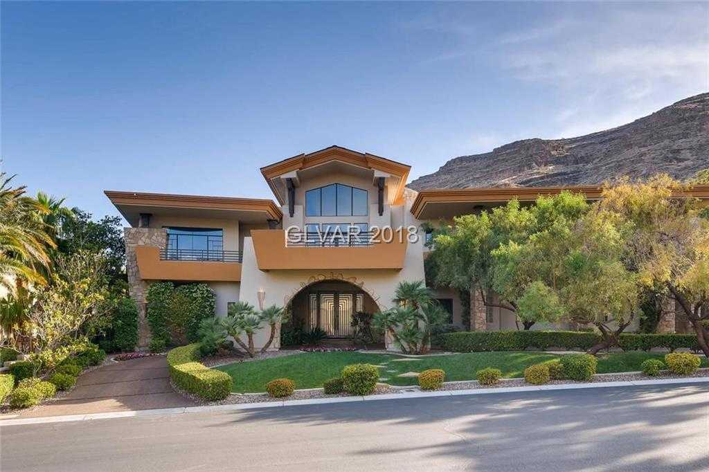 $4,388,888 - 6Br/9Ba -  for Sale in Red Rock Cntry Club At Summerl, Las Vegas