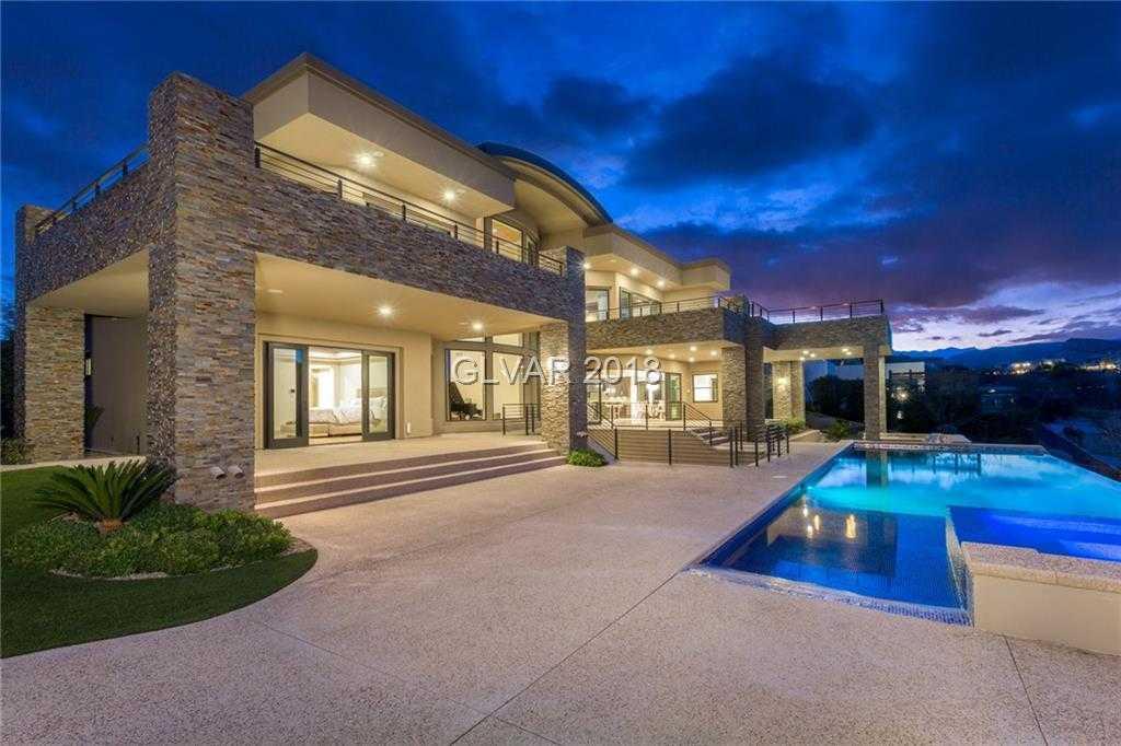 $4,975,000 - 5Br/8Ba -  for Sale in Summerlin Village 18 Parcel E, Las Vegas