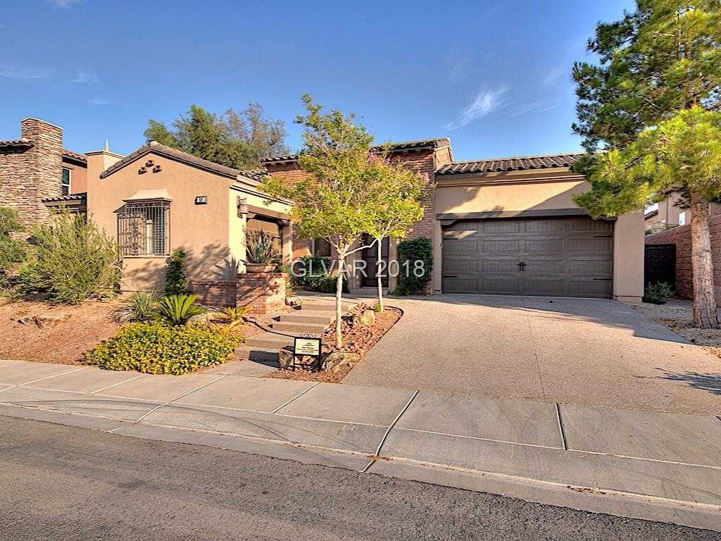 $1,000,000 - 3Br/4Ba -  for Sale in Lot J-1 At Lake Las Vegas Amd, Henderson