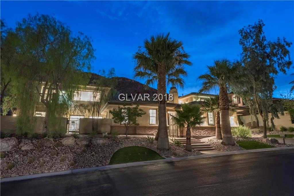$2,988,000 - 6Br/9Ba -  for Sale in Red Rock Cntry Club At Summerl, Las Vegas