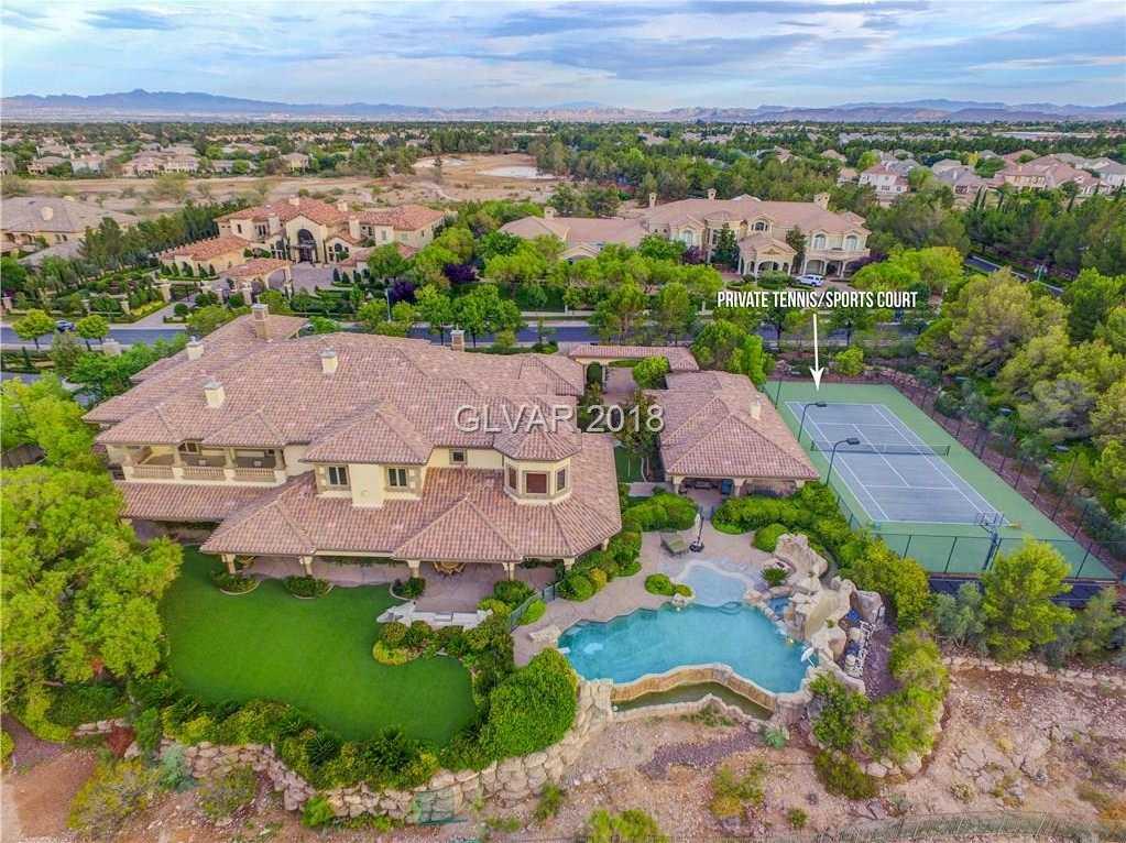 $5,749,900 - 7Br/8Ba -  for Sale in Peccole West, Las Vegas