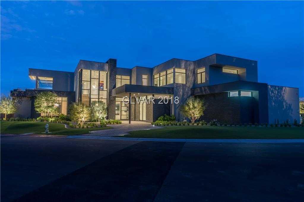 $5,499,000 - 5Br/8Ba -  for Sale in Summerlin Village 18 Ridges Pc, Las Vegas