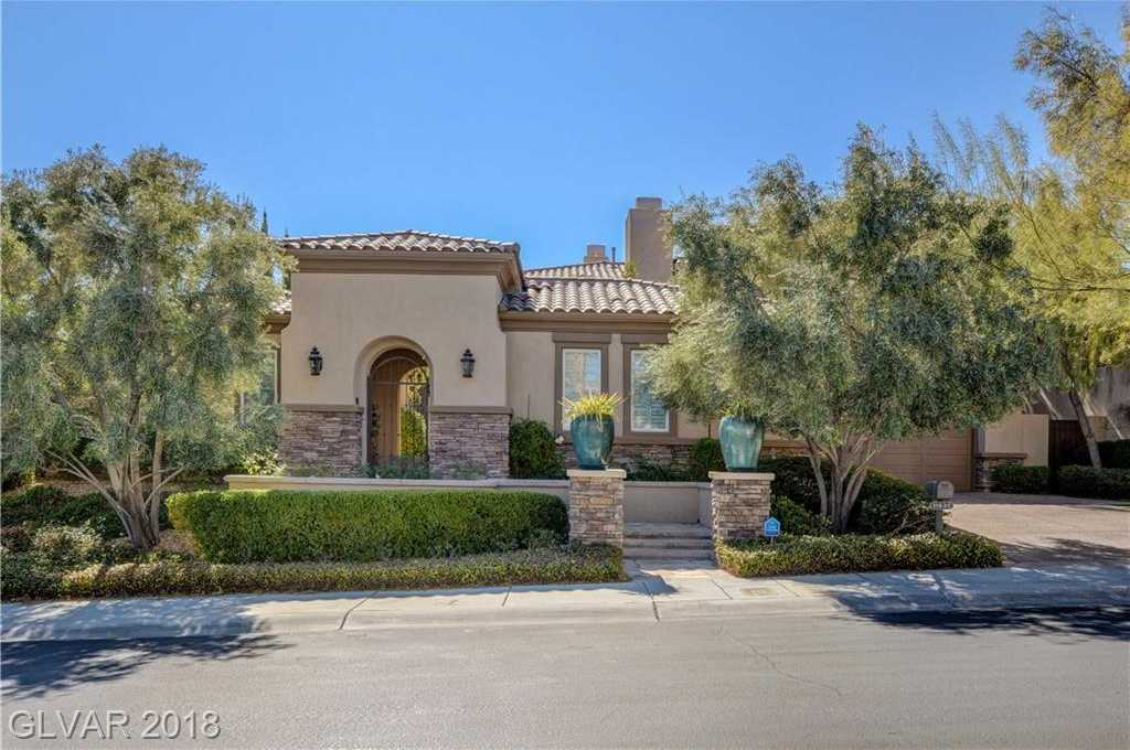 $2,480,000 - 5Br/6Ba -  for Sale in Red Rock Cntry Club At Summerl, Las Vegas