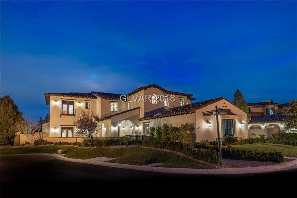 $3,299,000 - 5Br/7Ba -  for Sale in Enclave At Southern Highlands, Las Vegas