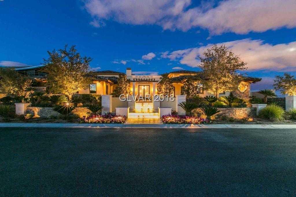$7,999,000 - 6Br/10Ba -  for Sale in Spanish Hills Est Unit 5a, Las Vegas