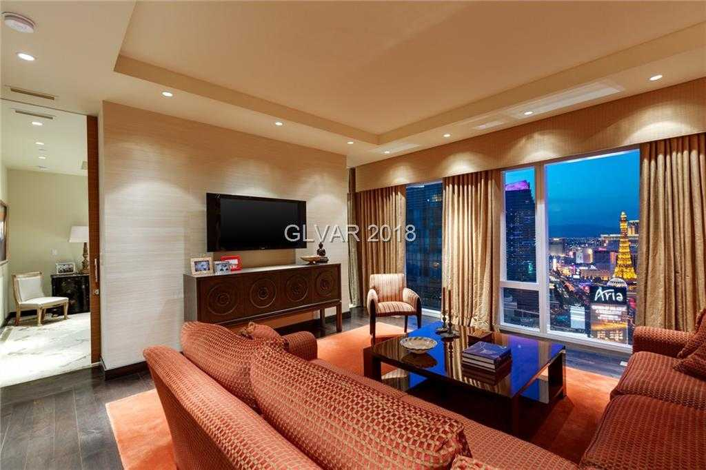 $4,490,000 - 2Br/3Ba -  for Sale in Resort Condo At Luxury Buildin, Las Vegas