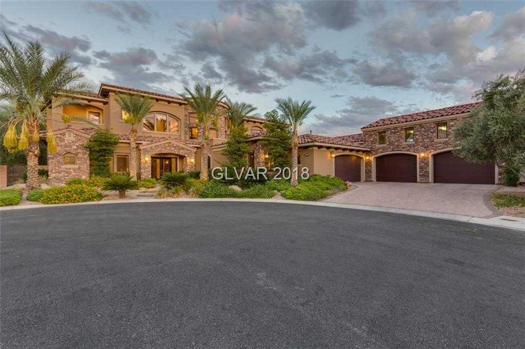 $2,199,000 - 4Br/6Ba -  for Sale in Kathryn Est Sub, Las Vegas