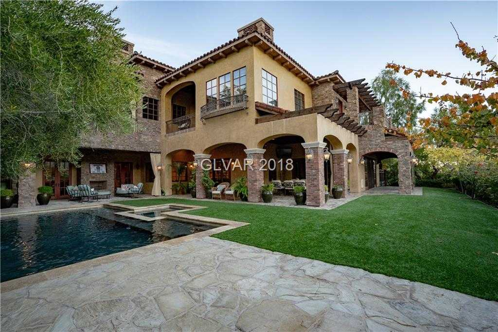 $4,250,000 - 4Br/8Ba -  for Sale in Red Rock Cntry Club At Summerl, Las Vegas