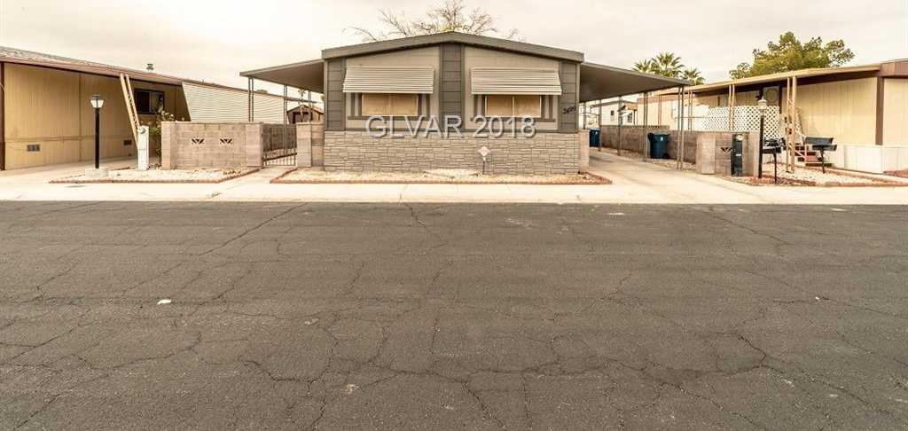 $164,900 - 2Br/2Ba -  for Sale in Desert Inn Mobile Est #01, Las Vegas