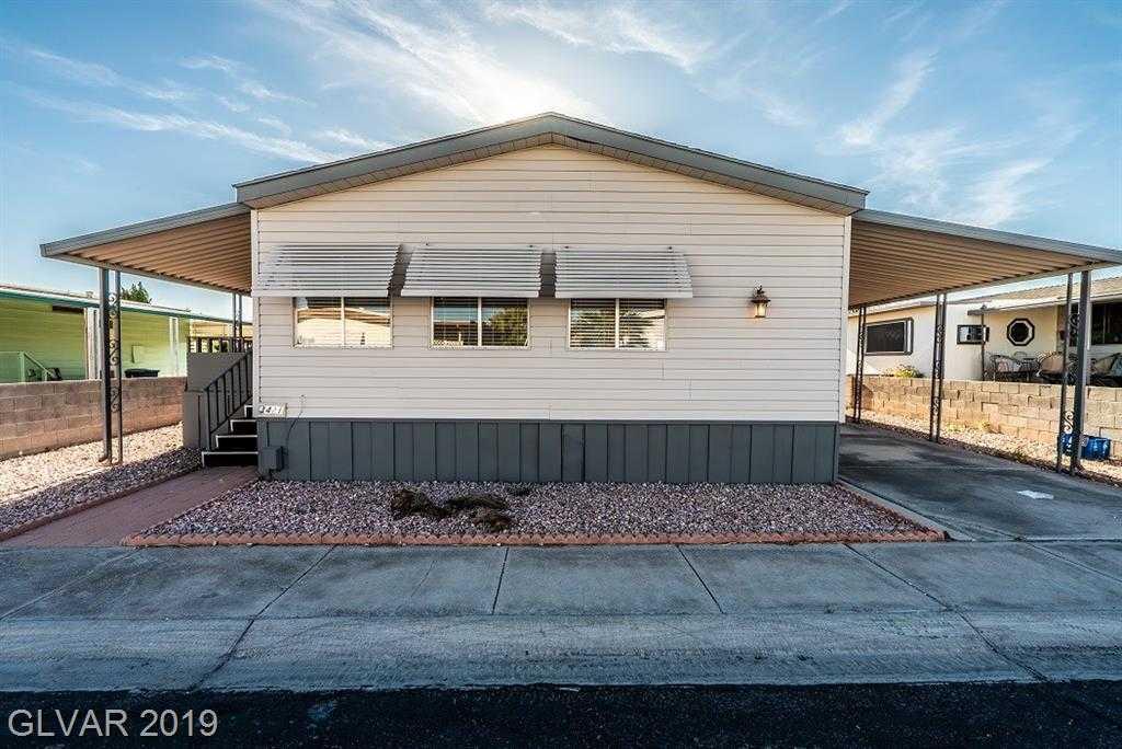 $164,900 - 2Br/2Ba -  for Sale in Desert Inn Mobile Est #02, Las Vegas