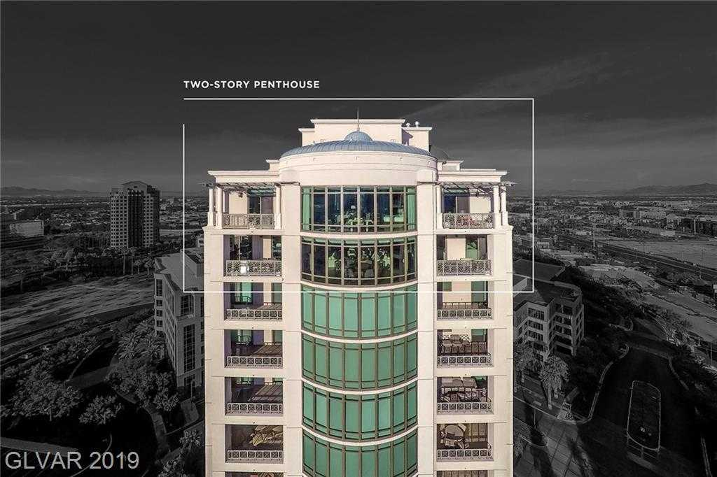 $8,800,000 - 4Br/5Ba -  for Sale in Park Towers At Hughes Center A, Las Vegas