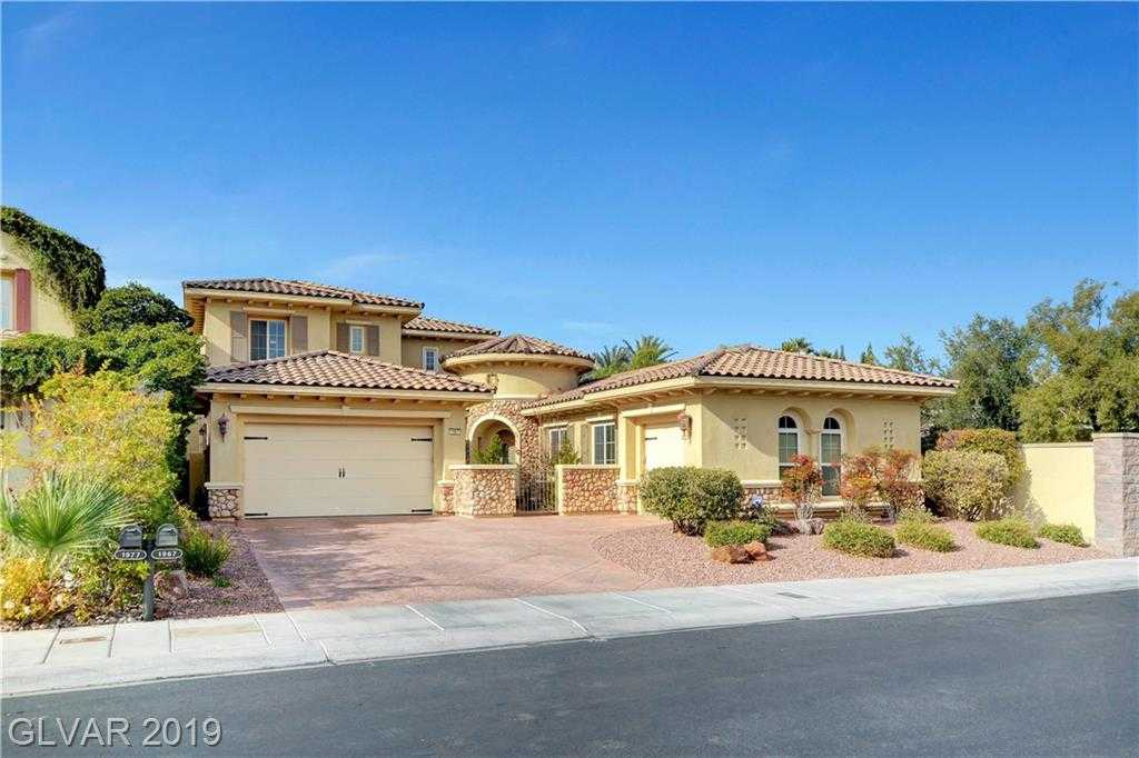 $1,350,000 - 4Br/5Ba -  for Sale in Red Rock Cntry Club At Summerl, Las Vegas