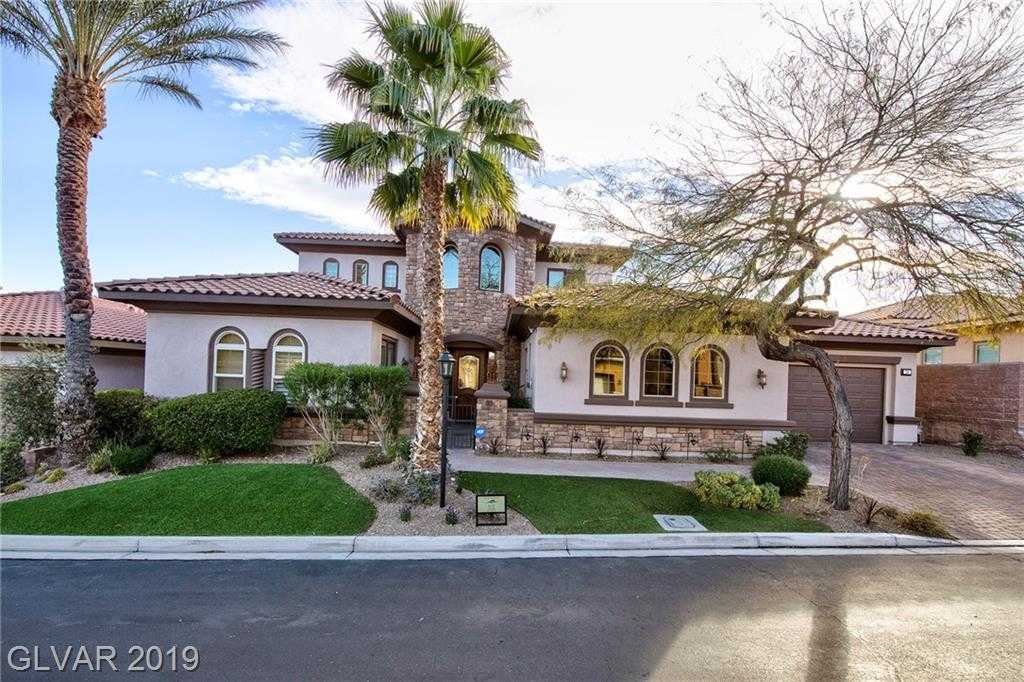 $1,064,900 - 4Br/5Ba -  for Sale in Lake Las Vegas Parcel 3n, Henderson