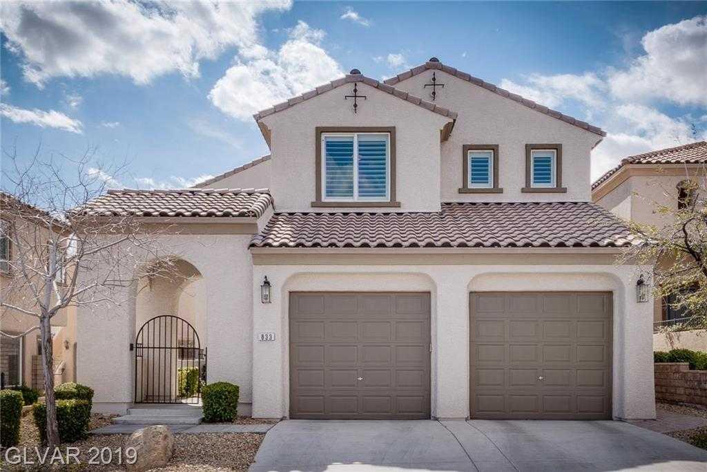 $489,000 - 4Br/3Ba -  for Sale in Escala Unit #2, Las Vegas