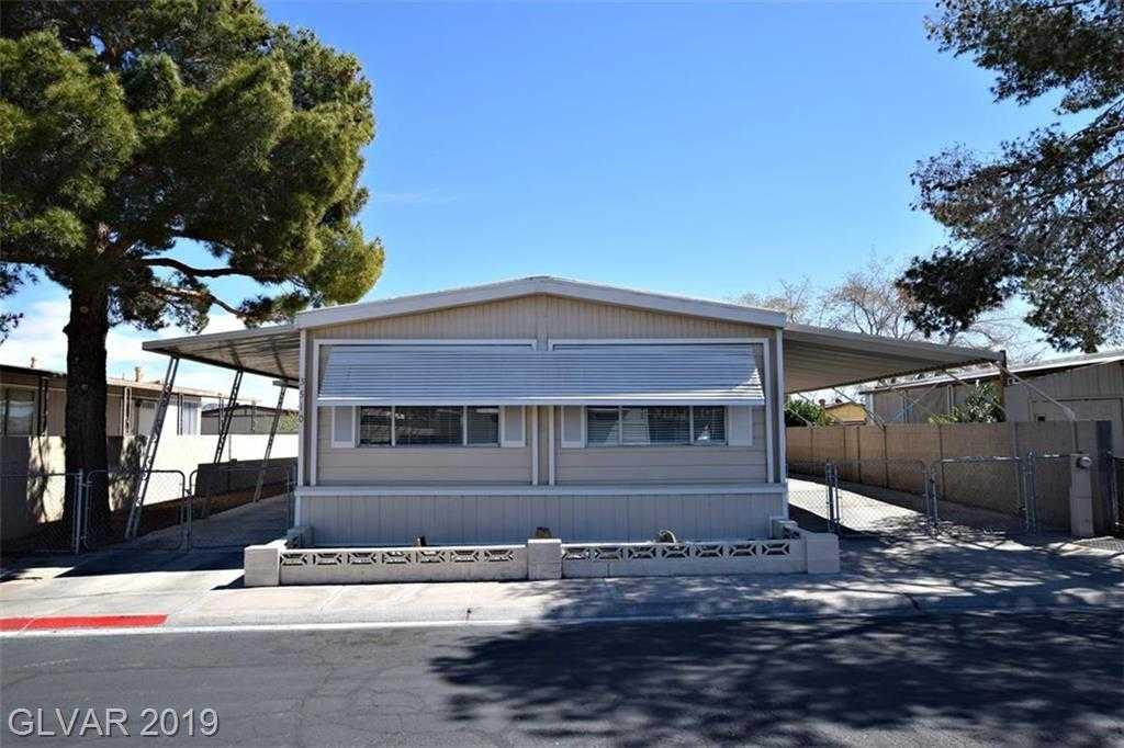 $153,900 - 3Br/2Ba -  for Sale in Desert Inn Mobile Est #02, Las Vegas