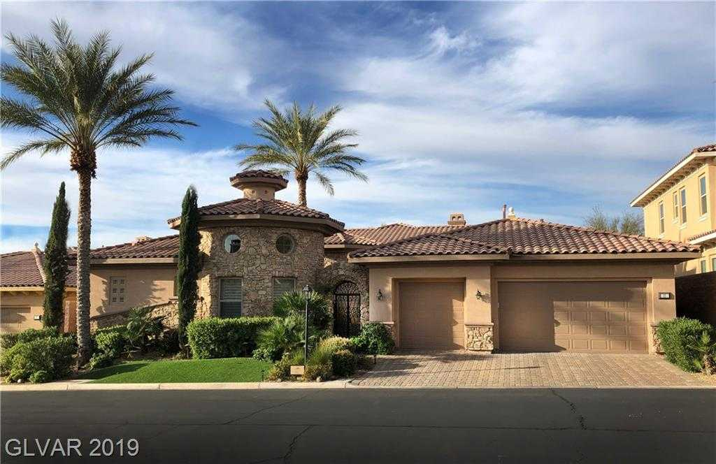 $995,000 - 4Br/6Ba -  for Sale in Lake Las Vegas Parcel 3n, Henderson