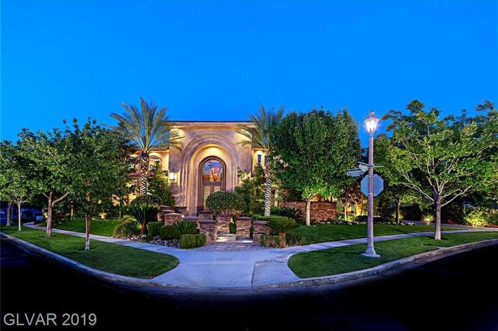 $3,333,300 - 7Br/9Ba -  for Sale in Summerlin Village 3, Las Vegas