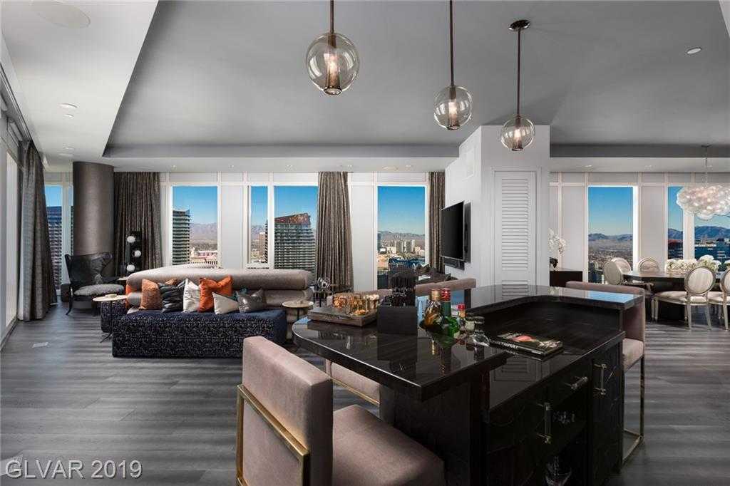 $5,995,000 - 3Br/4Ba -  for Sale in Resort Condo At Luxury Buildin, Las Vegas