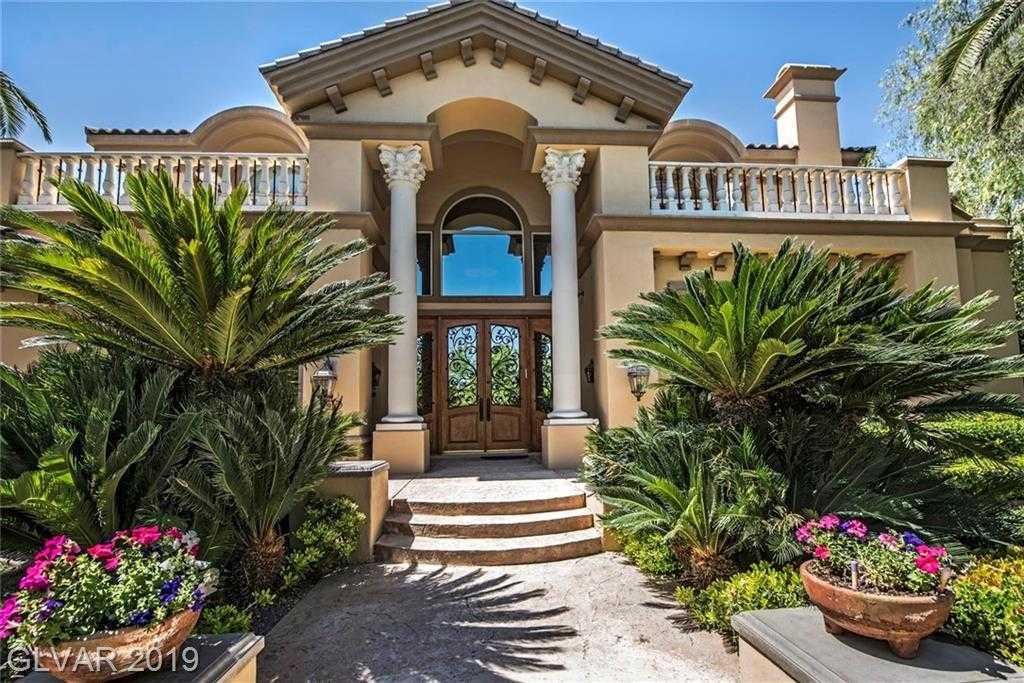 $2,490,000 - 6Br/7Ba -  for Sale in Tournament Hills, Las Vegas