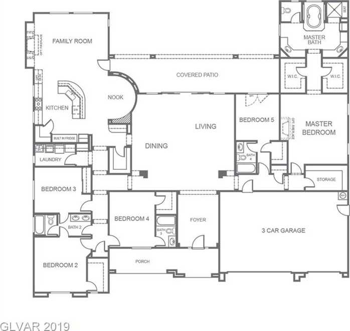 $695,000 - 5Br/4Ba -  for Sale in Canyon Estates Ii, Las Vegas