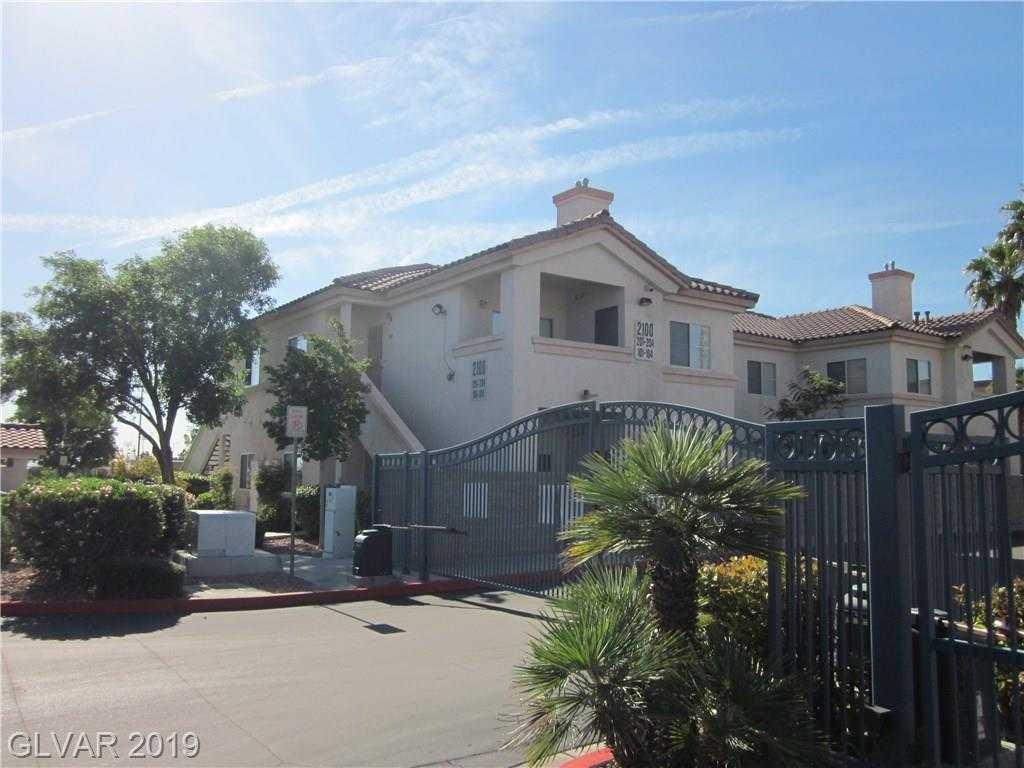 $159,500 - 2Br/2Ba -  for Sale in Lake Mead Condo, Las Vegas