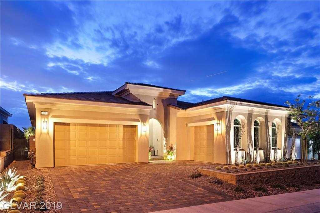 $889,000 - 3Br/4Ba -  for Sale in Lake Las Vegas Lot G-1, Henderson