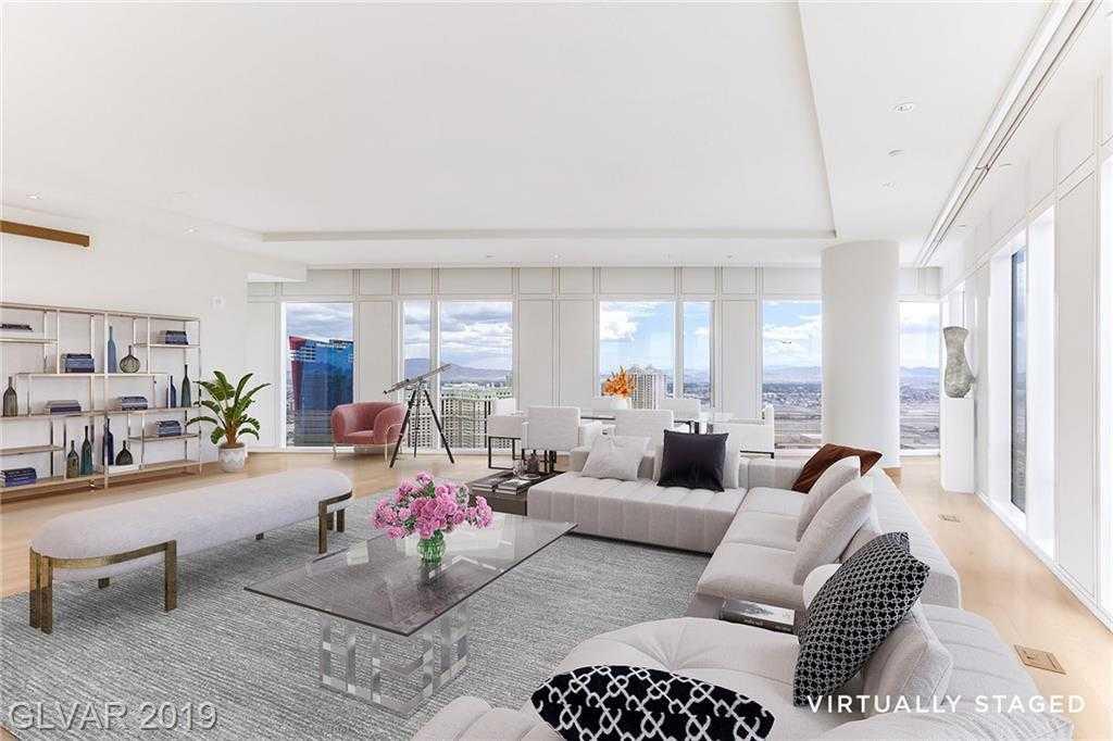 $3,000,000 - 2Br/3Ba -  for Sale in Resort Condo At Luxury Buildin, Las Vegas