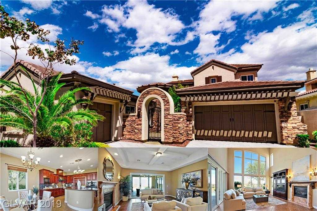 $1,188,000 - 4Br/5Ba -  for Sale in Red Rock Cntry Club At Summerl, Las Vegas
