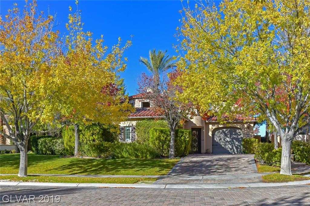 $1,125,000 - 3Br/4Ba -  for Sale in Beleza At Southern Highlands U, Las Vegas
