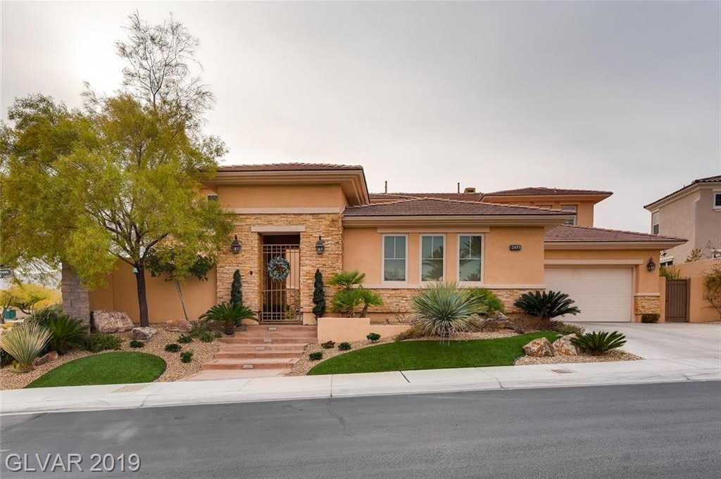 $2,195,000 - 5Br/6Ba -  for Sale in Red Rock Cntry Club At Summerl, Las Vegas