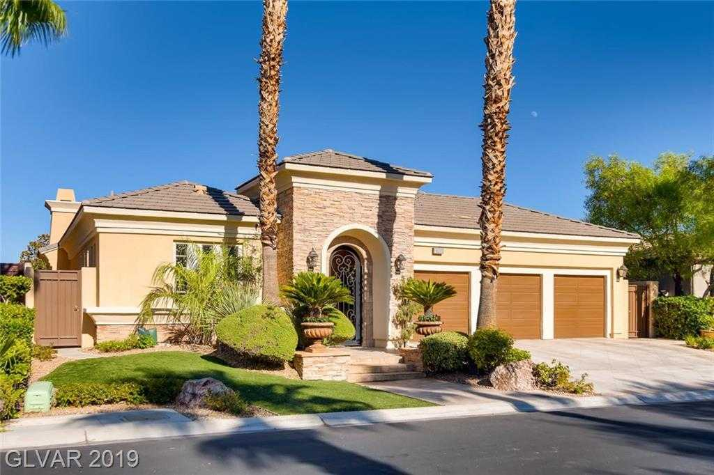$1,100,000 - 3Br/4Ba -  for Sale in Red Rock Cntry Club At Summerl, Las Vegas