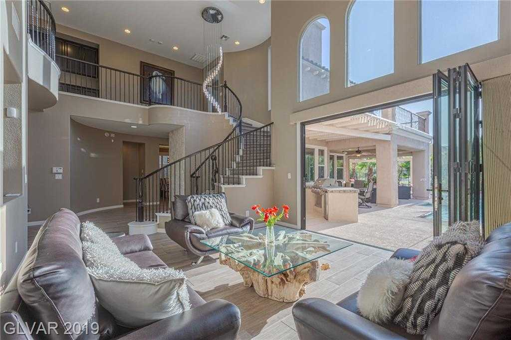 $1,199,900 - 3Br/4Ba -  for Sale in Red Rock Cntry Club At Summerl, Las Vegas