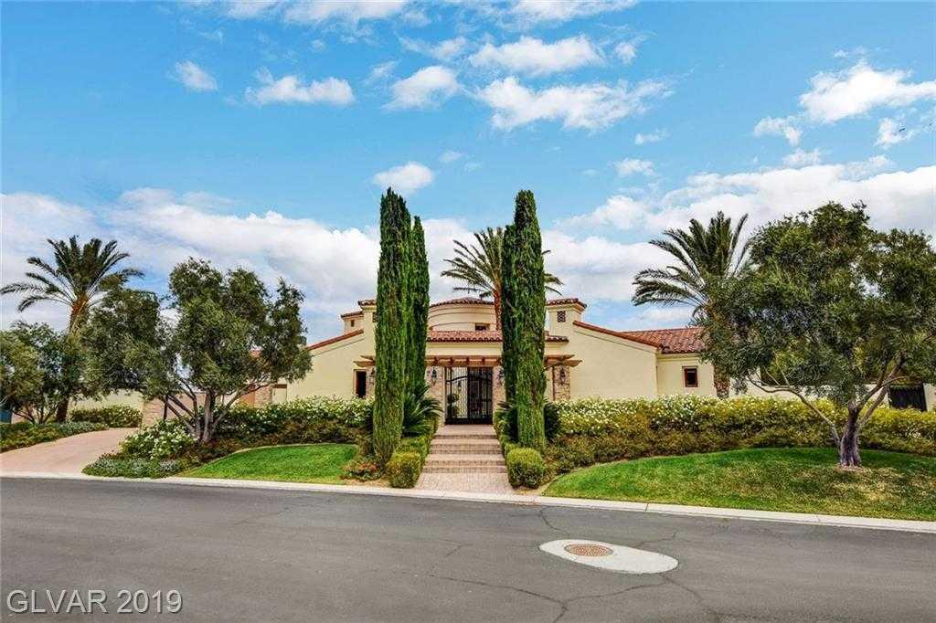 $3,300,000 - 5Br/9Ba -  for Sale in Estates At Southern Highlands-, Las Vegas