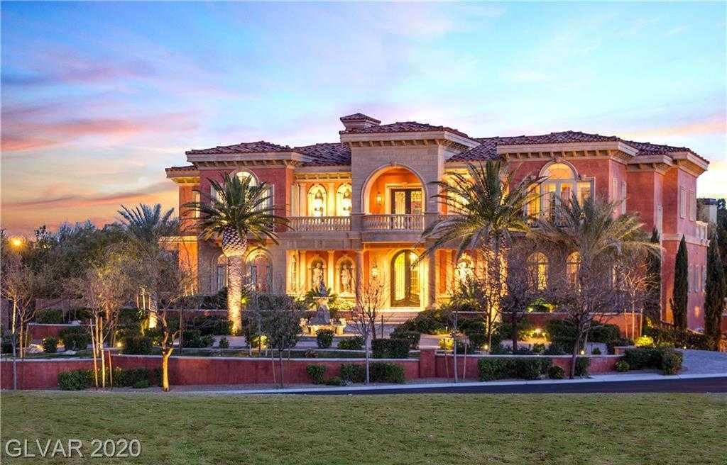 $7,600,000 - 6Br/8Ba -  for Sale in Estates At Southern Highlands-, Las Vegas