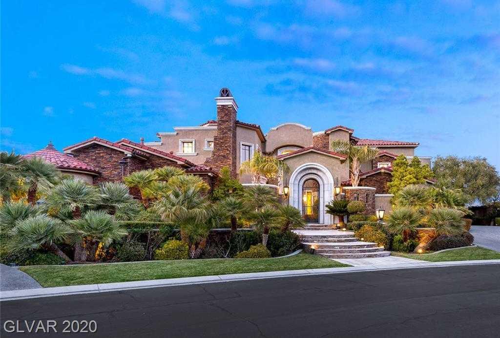 $4,250,000 - 4Br/7Ba -  for Sale in Estates At Southern Highlands-, Las Vegas