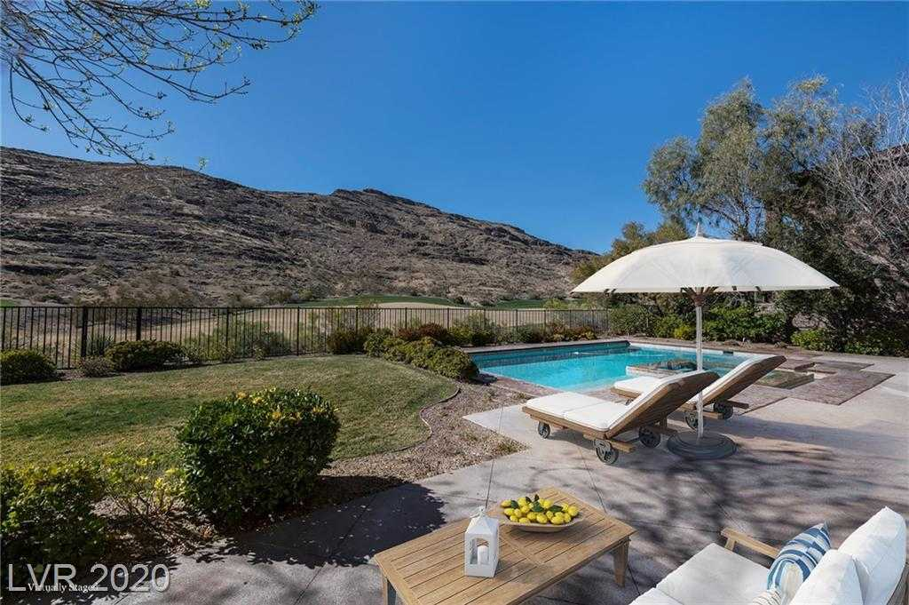 $2,490,000 - 5Br/6Ba -  for Sale in Red Rock Cntry Club At Summerl, Las Vegas