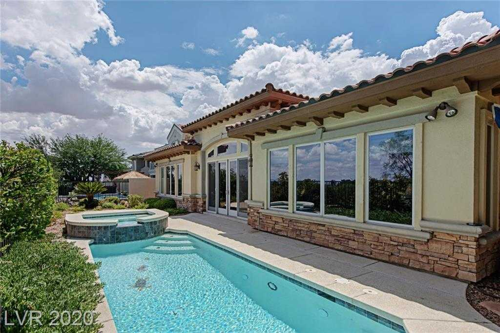 $1,266,500 - 3Br/4Ba -  for Sale in Red Rock Cntry Club At Summerl, Las Vegas