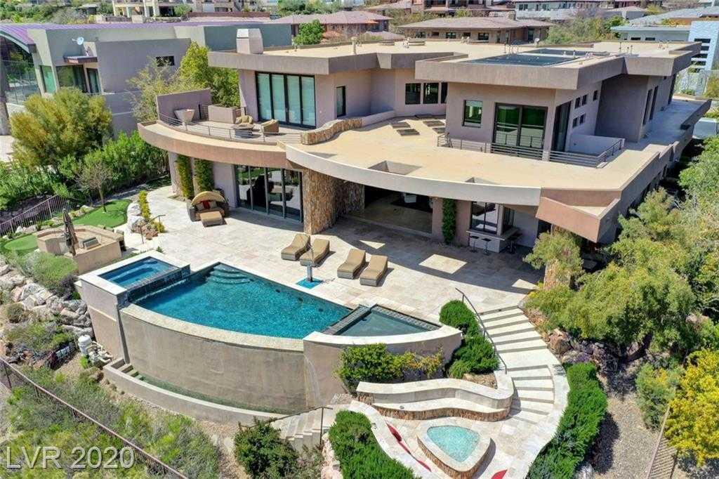 $4,495,000 - 4Br/6Ba -  for Sale in Summerlin Village 18 The Ridge, Las Vegas
