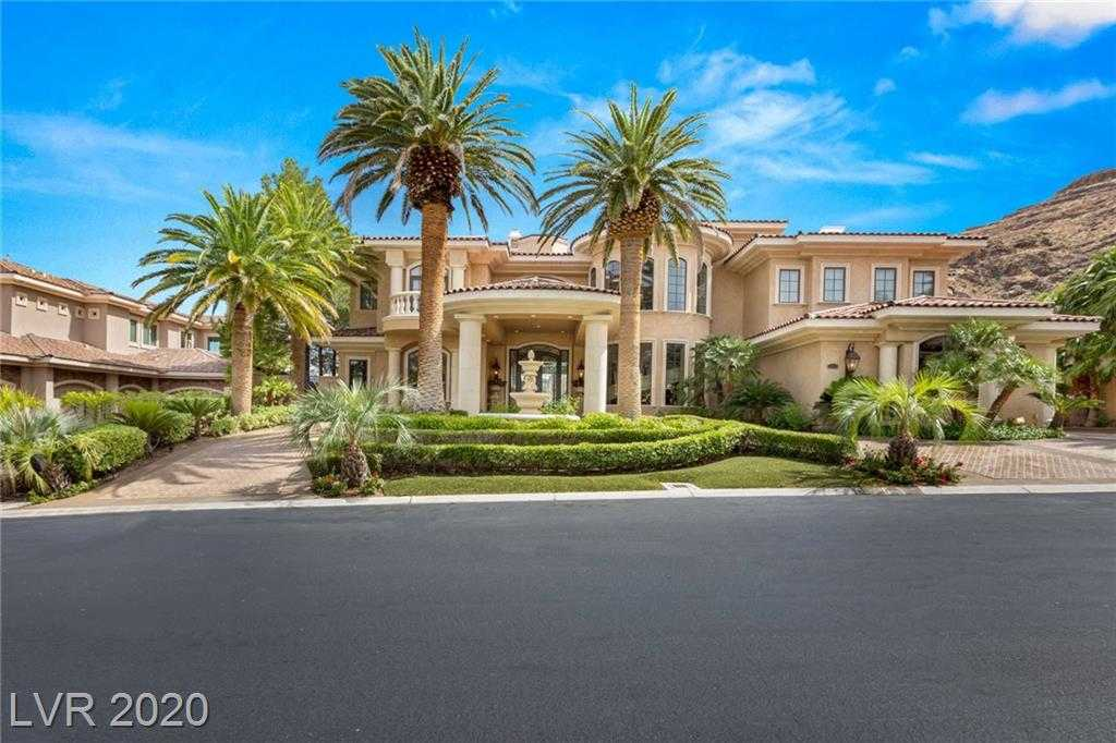 $5,500,000 - 4Br/7Ba -  for Sale in Red Rock Cntry Club At Summerlin --3, Las Vegas