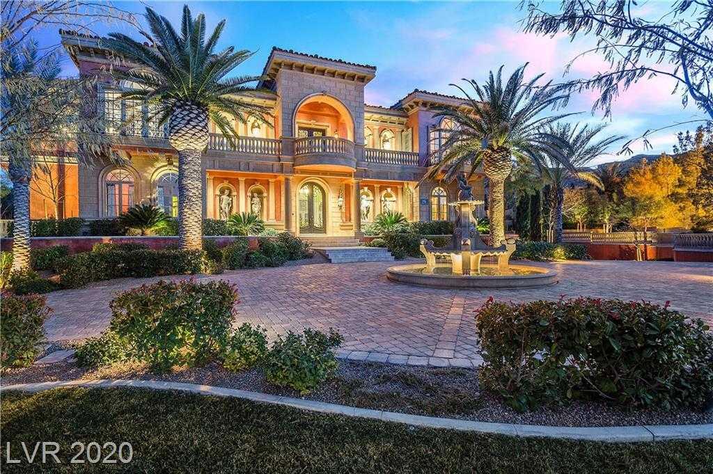 $7,200,000 - 6Br/8Ba -  for Sale in Estates At Southern Highlands-, Las Vegas