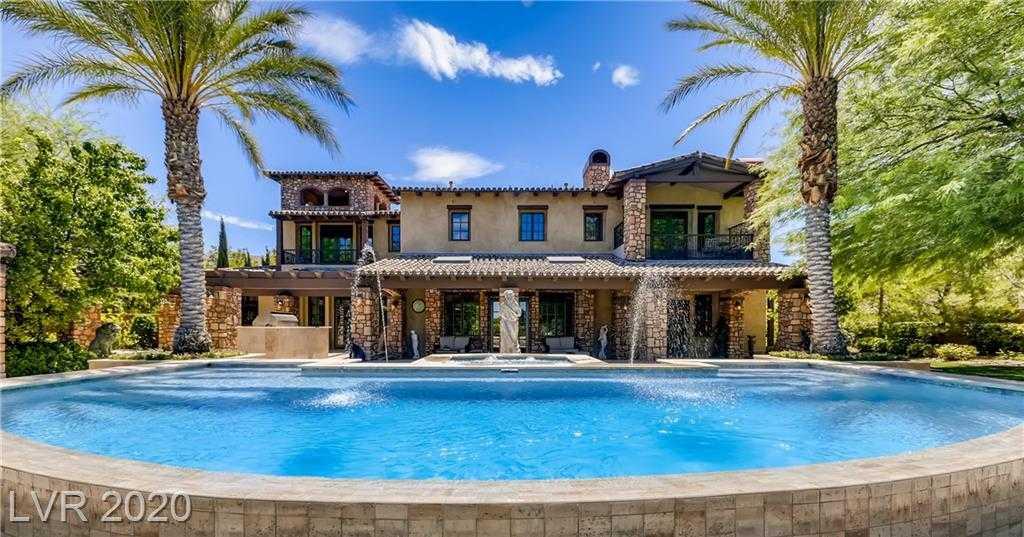 $4,850,000 - 7Br/9Ba -  for Sale in Estates At Southern Highlands-#3, Las Vegas