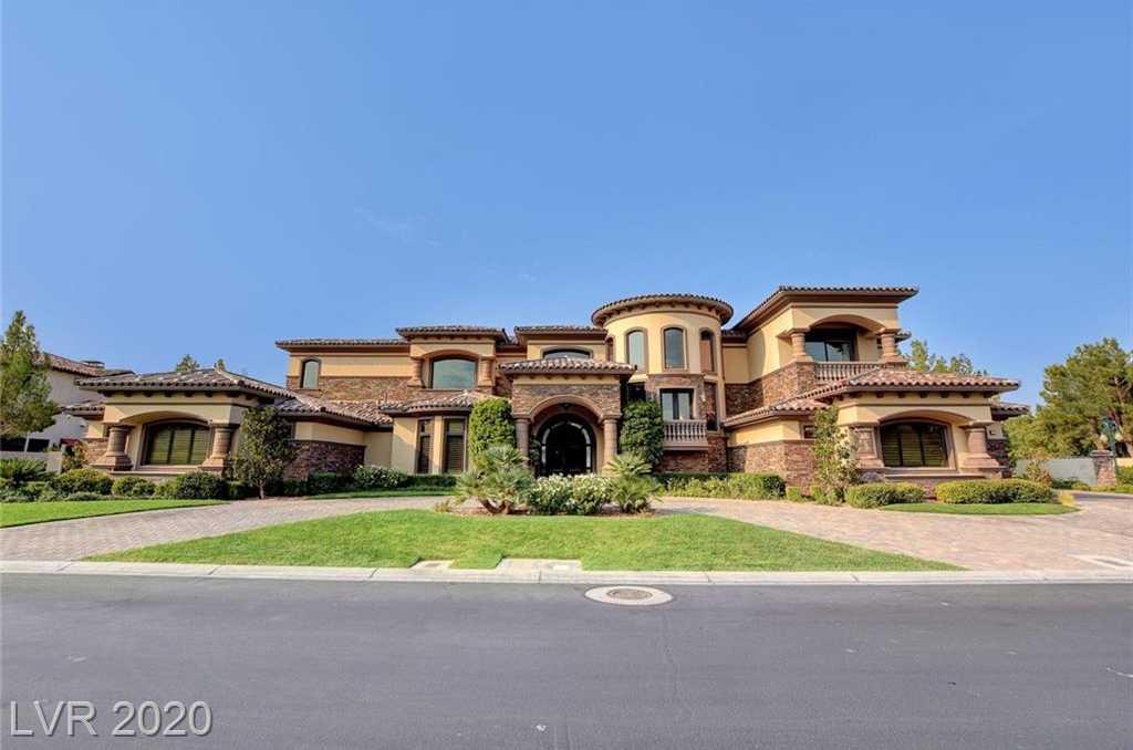 $6,700,000 - 5Br/8Ba -  for Sale in Enclave At Southern Highlands 2nd Amd, Las Vegas