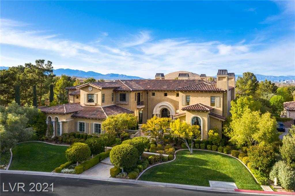 $5,988,000 - 5Br/10Ba -  for Sale in Estates At Southern Highlands-#3, Las Vegas