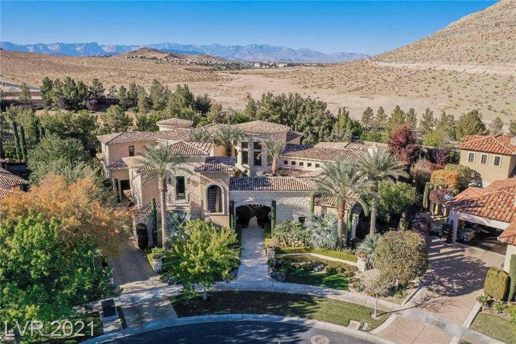 $5,500,000 - 5Br/7Ba -  for Sale in Southern Highlands, Las Vegas