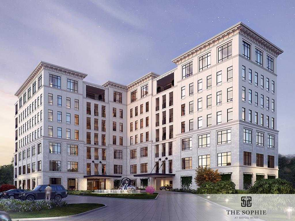 $3,715,000 - 3Br/4Ba -  for Sale in The Sophie At Bayou Bend, Houston